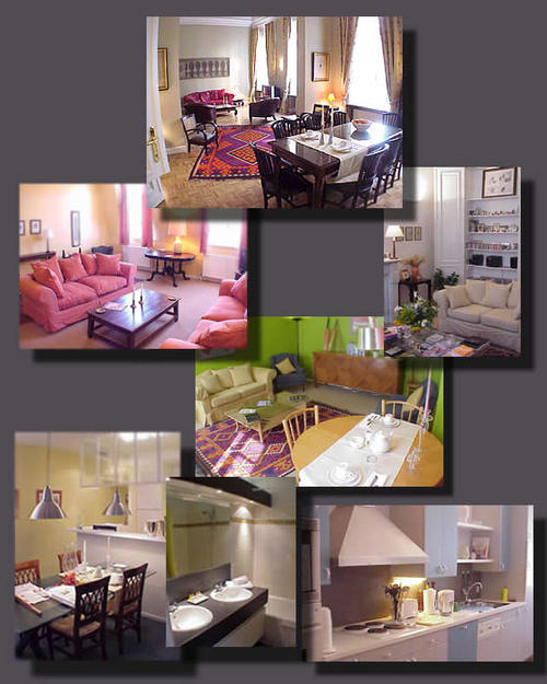 Brussels furnished rentals - rue Souveraine
